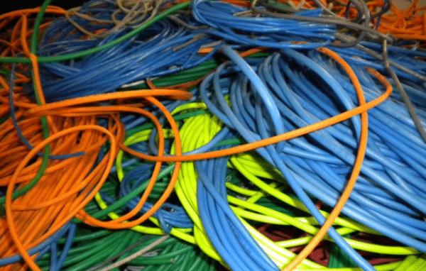 scrap metal wire
