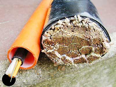 copper scrap cable