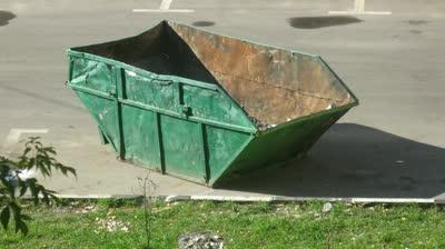 scrap container