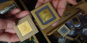 Photo of CPU Chips