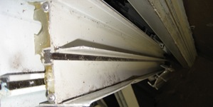 Picture of Aluminum Thermopane/break