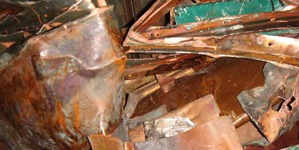 Picture of Dirty Roofing Copper