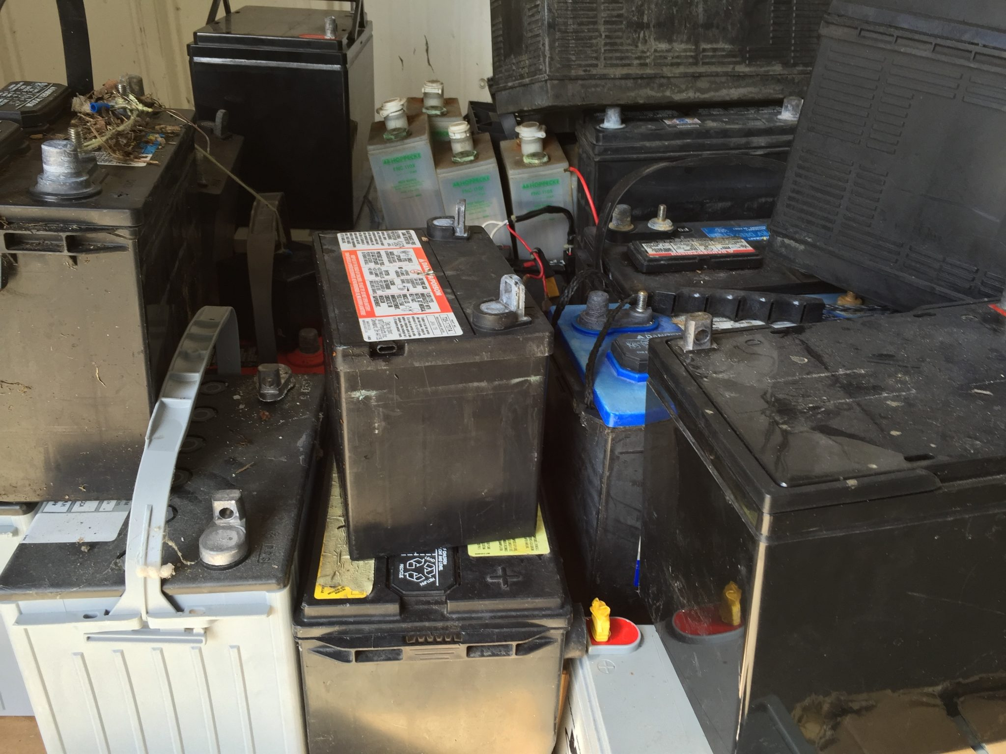 Lead Batteries Picture