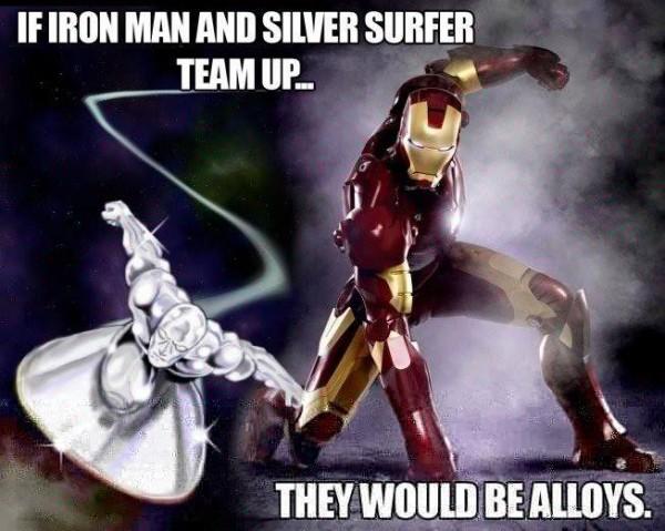 metal vs. alloy