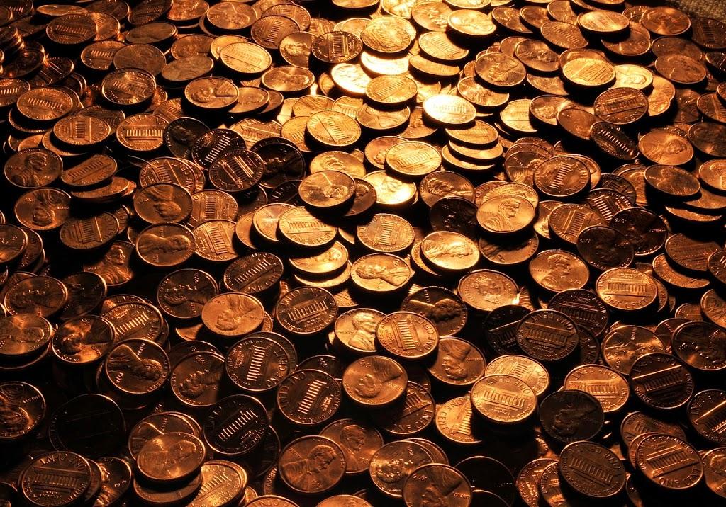 can I scrap pennies?