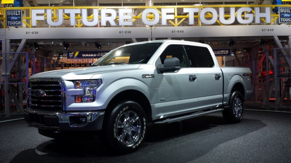ford f-150 recycled aluminum