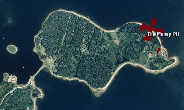 oak island treasure hunting