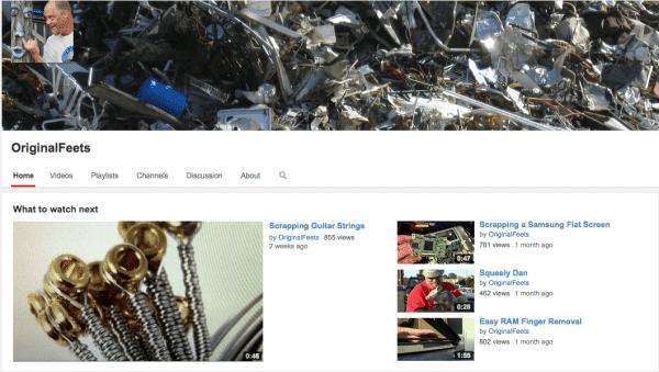 OriginalFeets YouTube