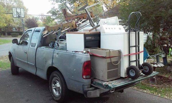 scrap metal pickups