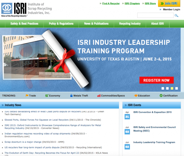 Who is ISRI