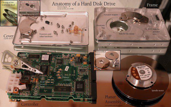 hard drive alnico magnet