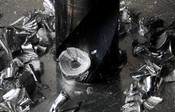 aluminum shavings