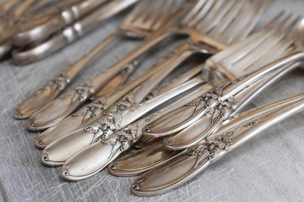 silverware scrap metal