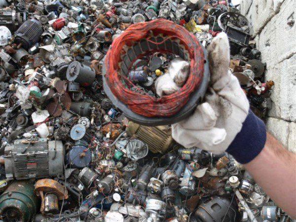 scrapping electric motors