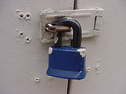 scrap theft protection