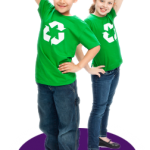 Teach recycling to your children
