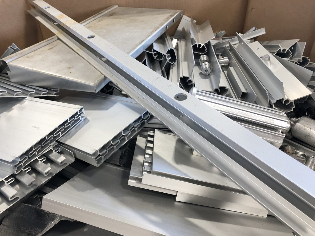 Photo of Aluminum Scrap