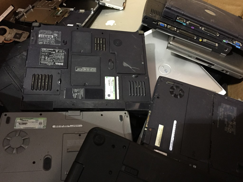 Laptops - scrap metal prices