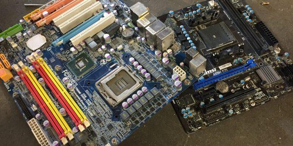 Picture of Non-Green PC Board