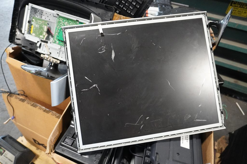 Photo of LCD Monitors (not working)