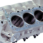 Photo of Aluminum Engine Block