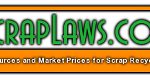 Visit this website to learn about scrap laws in your state