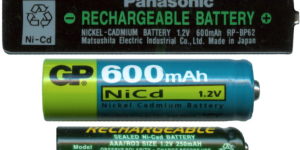 Picture of Ni-Cad Batteries