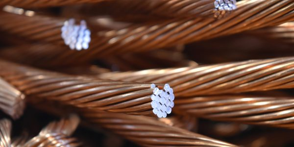 Picture of #1 Bare Bright Copper Wire
