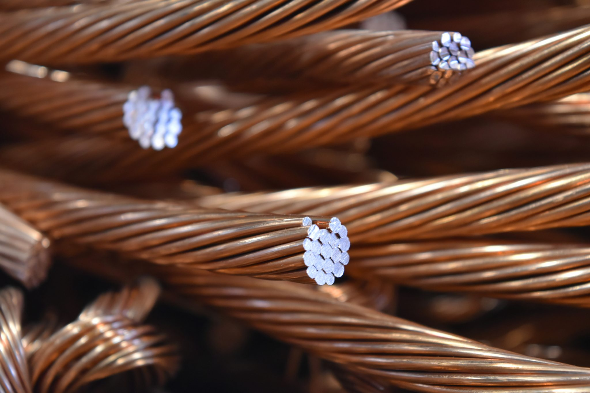 1 Bare Bright Copper Wire