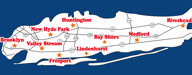 Huntington New York Map.Gershow Recycling Huntington Scrap Metal Yard In Huntington Station