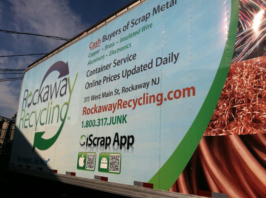 Rockaway Recycling, Scrap Metal Yard in Rockaway, New Jersey