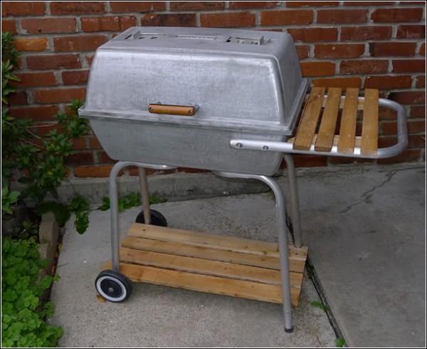 cast aluminum grill