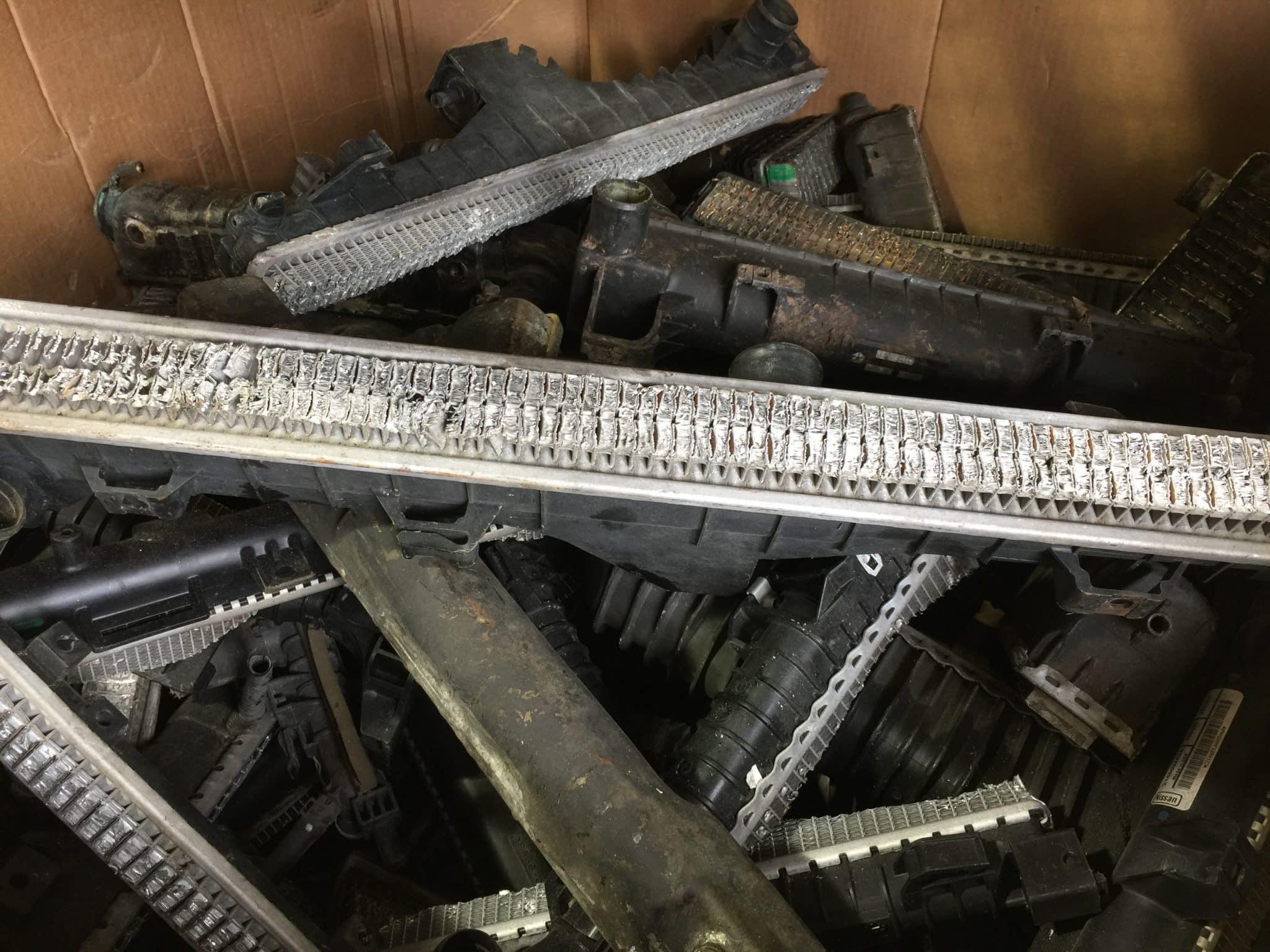 How To Scrap Dirty Copper Radiators - iScrap App