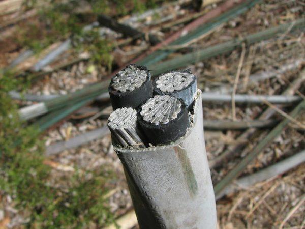 insulated aluminum wire