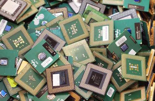 electronics for scrap metal