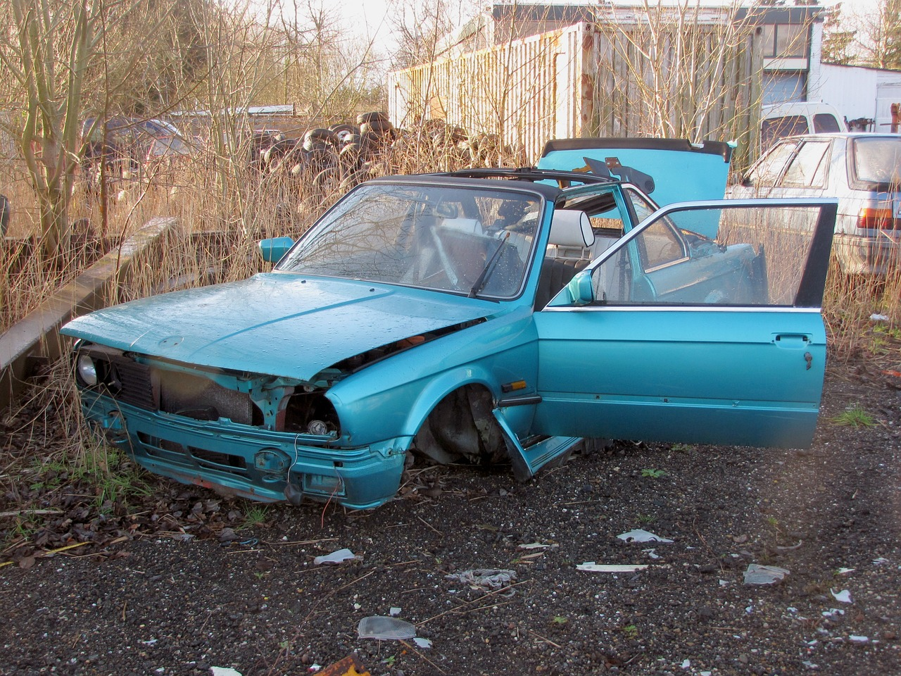 Picture of Incomplete Car