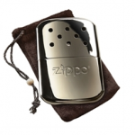 Use this zippo hand warmer to warm your hands quickly