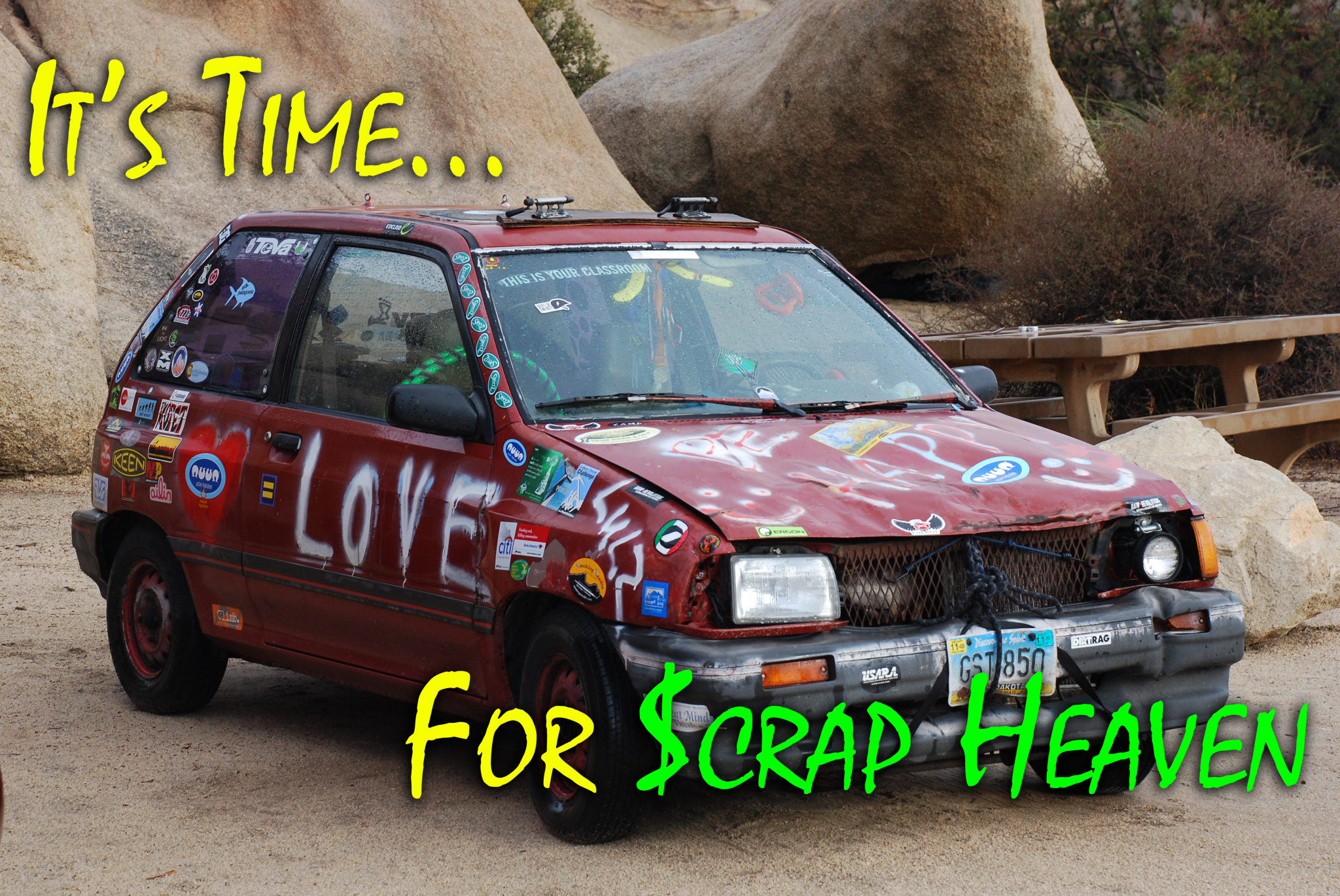 Face It, Your Car Is Ready For Scrap Heaven - iScrap App