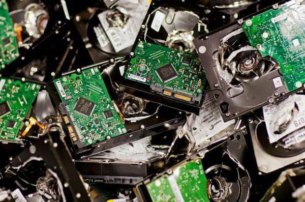 scrap hard drive boards