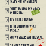 Rules that a scrap dealer lives by