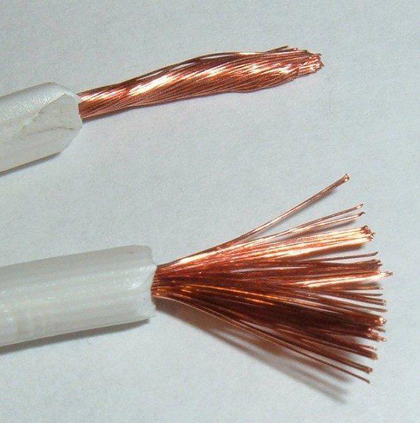 stripping copper wire scrap