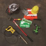 Safety tips and equipment for scrap metal recycling