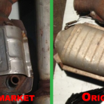 Seeing the difference between aftermarket and original catalytic converters