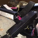scrapping different types of ballasts