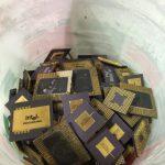 scrap metal CPU chips