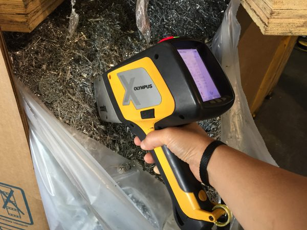 scrap metal xrf analyzer