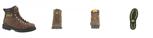 Caterpillar Silverton Steel Toe 6%22 Work Boot