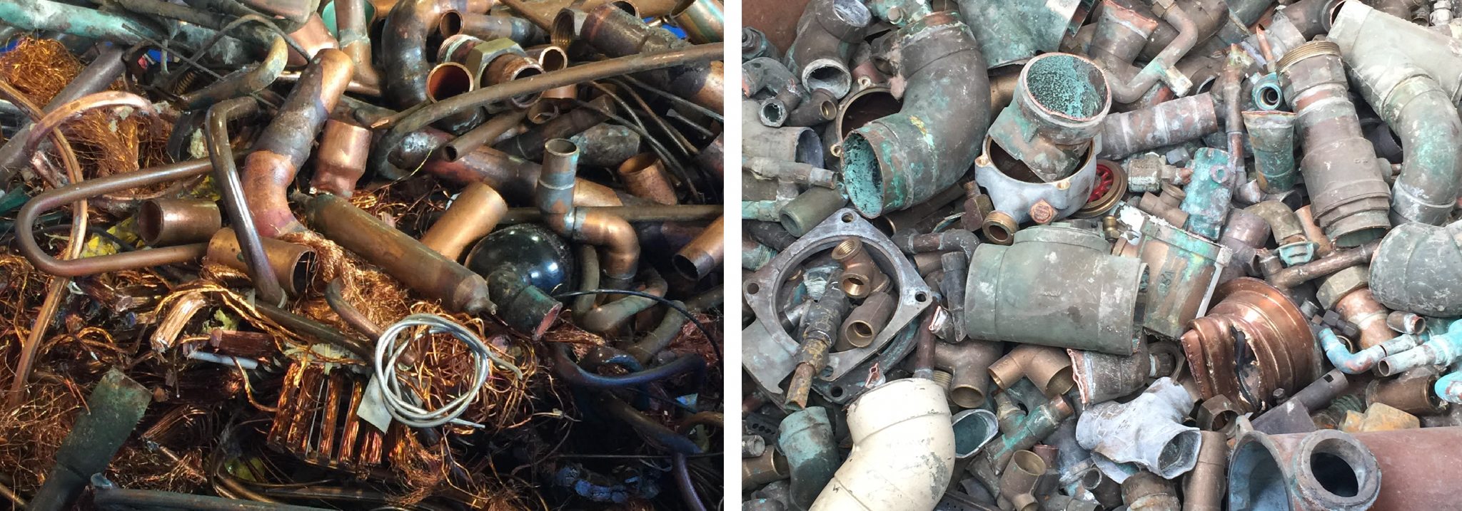 Difference Between Copper & Brass Scrap