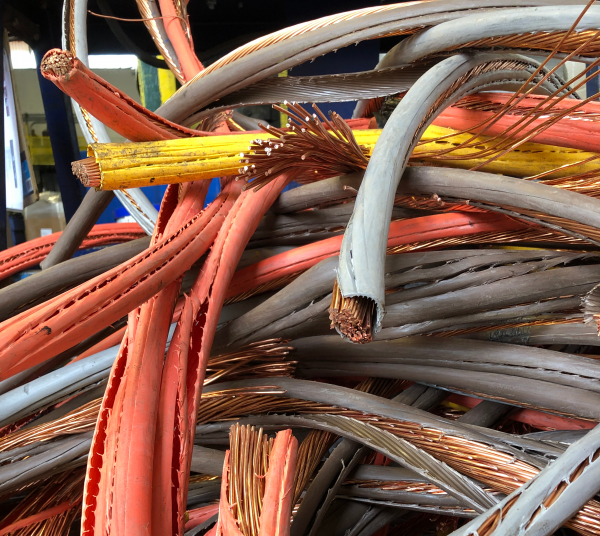 Stripped Copper Wire