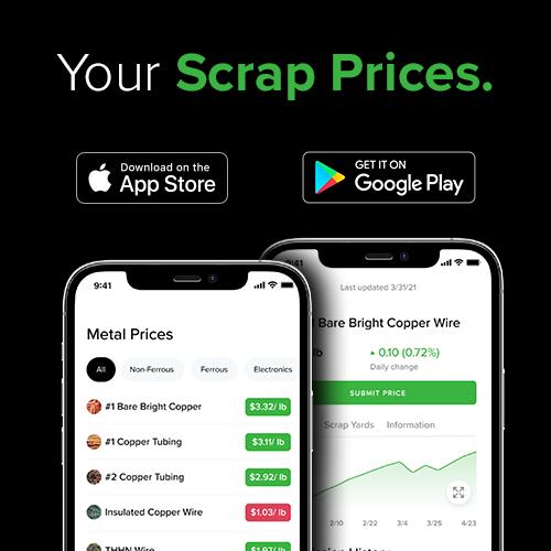 Scrap Metal Prices Online - iScrap App
